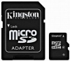 Kingston karta pamięci micro SDHC 8GB class 4 + Adapter