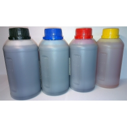 4 x atrament  HP 250 ml (black cyan magenta yellow)